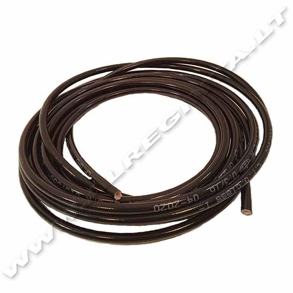PVC SND Vamzdelis 1/4 juodas (icom)