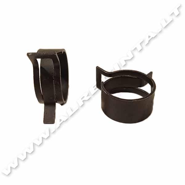 Sąvarža spyruoklinė juoda-16.0-22/12mm
