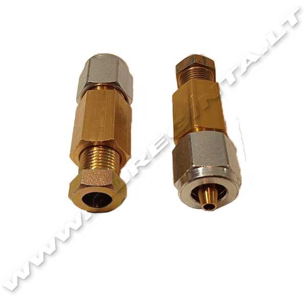 PVC SND vamzdelio sujungimo komplektas (varinis vamzdelis - d 8 - PVC d 6)