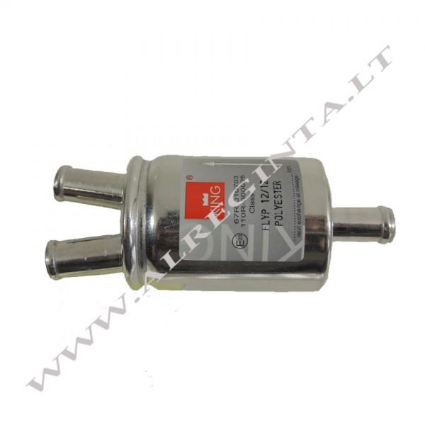 Gas phase filter 12/2X12 (Aluminium, Poliester)