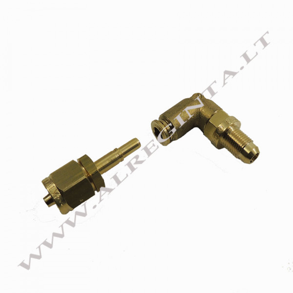 Connector for LPG PCV tube FASTY FIT fi 6 90 (external thread)