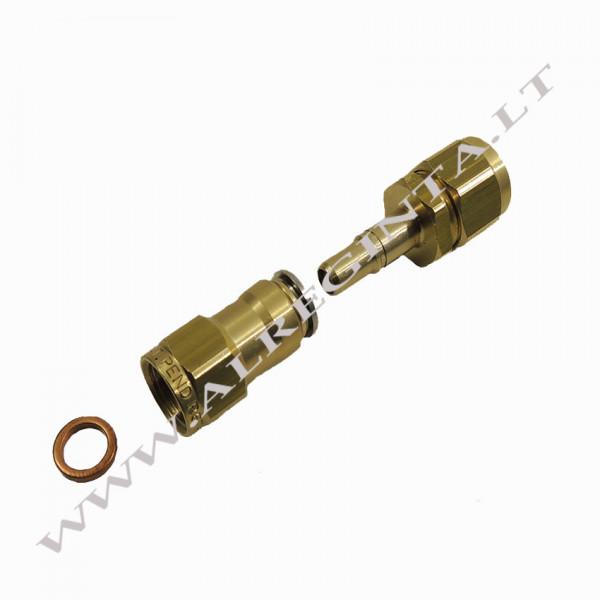 Connector for LPG PCV tube FASTY FIT fi 8 (internal thread)