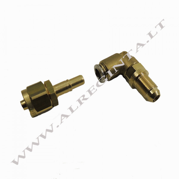 Connector for LPG PCV tube FASTY FIT fi 8 90 (external thread)