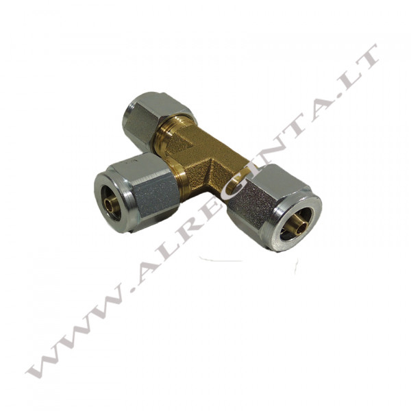 Tee Connector for PCV tube d 6-6-6 (Faro)
