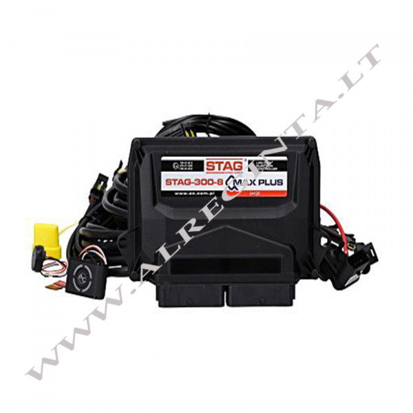 Electronic set STAG-300-8 Qmax plus 8 cil