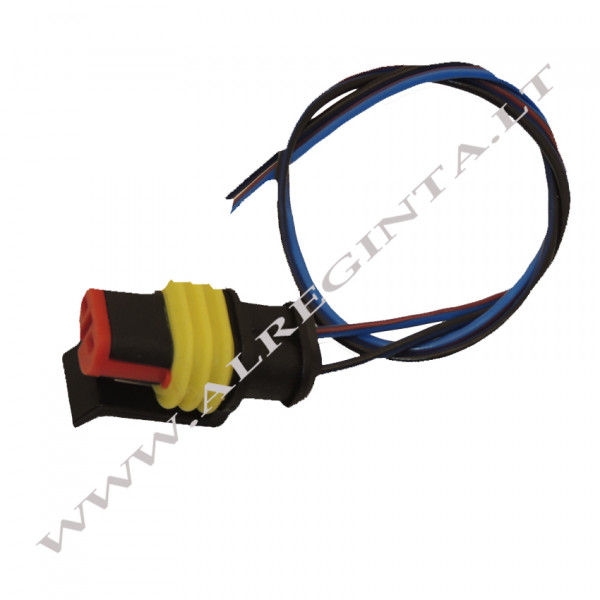 Connector with wires (hermetic)