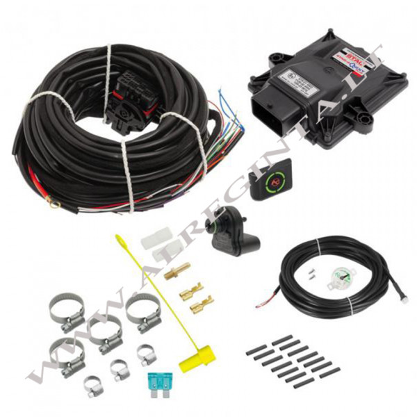 Electronic set STAG-300-4vQnext Plus 4 cyl.