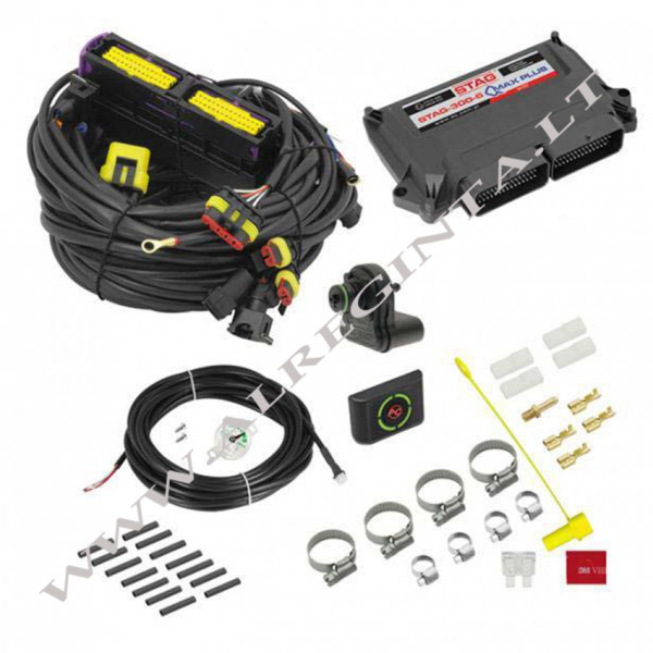 Electronic set STAG-300-6vQmax 6 cyl