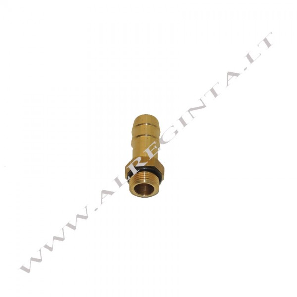 Gas inlet nozzle for