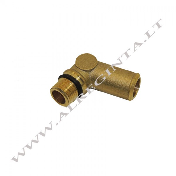 Reducer's copper elbow for coolant ROMANO